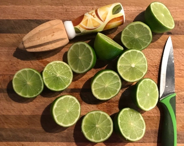 Lime prep 1
