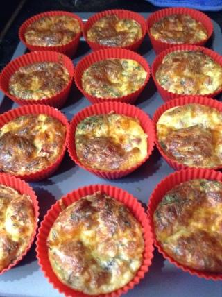 Muffin quiche 3