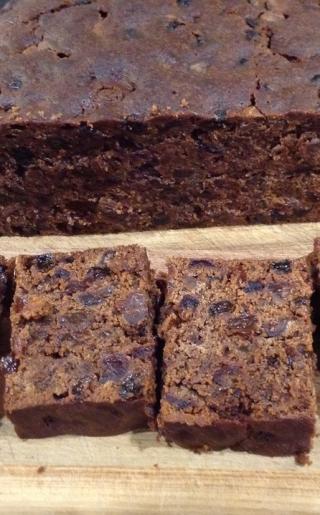 Chocolate fruitcake 2