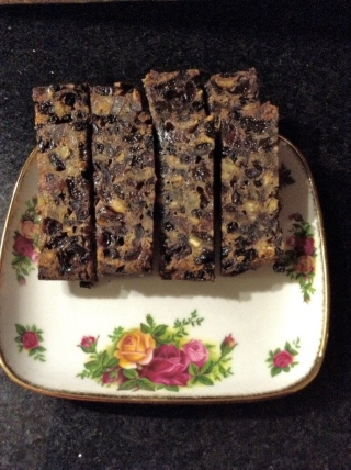 Christmas cake to share
