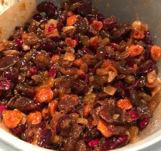 Fruit mince day 1 a