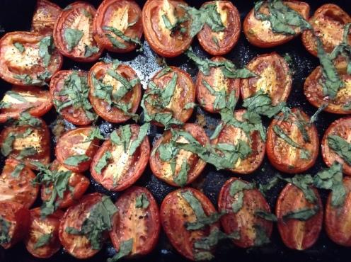 Tomatoes roasted 1
